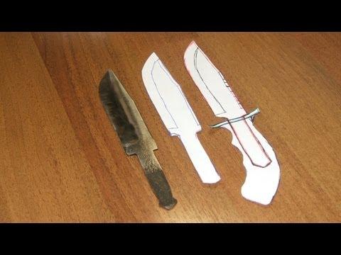 Ножи охотничьи изготовление своими руками