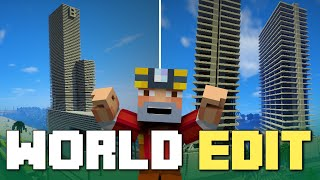 Minecraft: World Edit Fun on Los Dangeles!