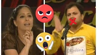 OMG! JUDGES GOT SUPER ANGRY On This RUDE Contestant - Dance India Dance - Dehli Auditions