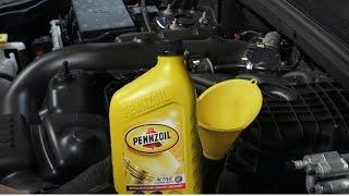 2011-2015 Jeep Grand Cherokee 3.6L V6 Oil Change Procedure