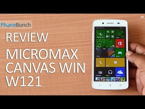 Micromax Canvas Win W121 Review