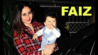 Kareena Kapoor Son Taimur Ali Khan Name Change Faiz