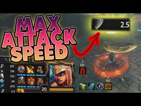 Smite: Max Attack Speed Bastet Build - DESTROYING THEIR WHOLE TEAM SO EASILY!