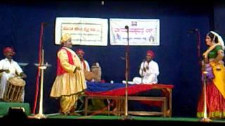 Yakshagana in Hyderabad- Shaneeshwara Mahatme, Chandiraanane magale