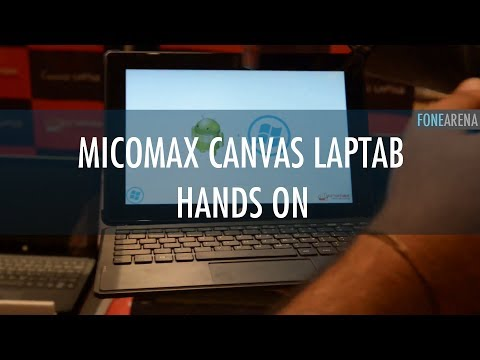 Micromax Canvas LapTab Hands On