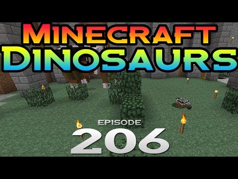 Minecraft Dinosaurs! - Episode 206 - Baby Anky