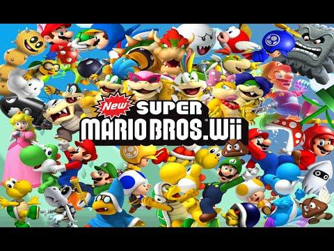Super Mario Bros. Wii [ Türkçe ] # 11 - Su Alti Macerasi