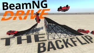BeamNG Drive - Jumping King's Landing -The Perfect Backflip & More! - BeamNG Drive Funny Moments