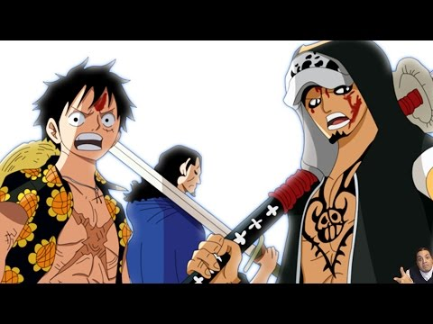 One Piece 758 Manga Chapter ワンピース Review Luffy Law Vs Doflamingo Begins + Usopp Obtains Haki