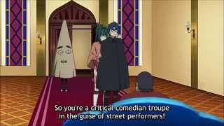 Hitsugi no Chaika - Akari's Strip Tease