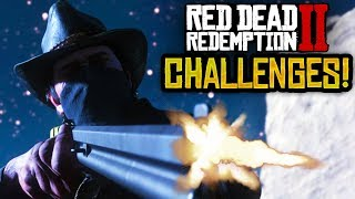 Red Dead Redemption 2 - NEW RDR2 IN-GAME CHALLENGES! MY NEW RDR2 GAMEPLAY CHALLENGE WISHLIST! (RDR2)