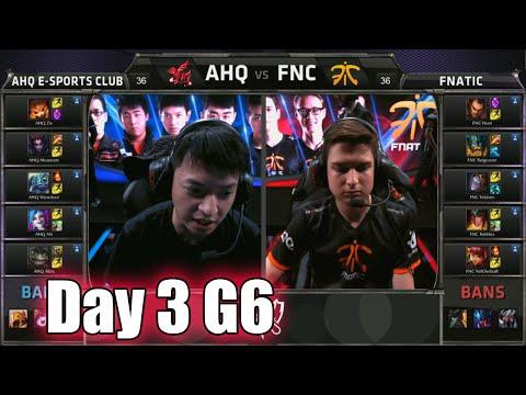 ahq e-Sports Club vs Fnatic | Day 3 Game 6 Group B LoL S5 World Championship 2015 | AHQ vs FNC D3G6