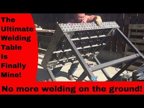 NEW WELDING TABLE!!! Certa Flat Welding table (fab Block) 36''x48'' Unorthodox Fabrication