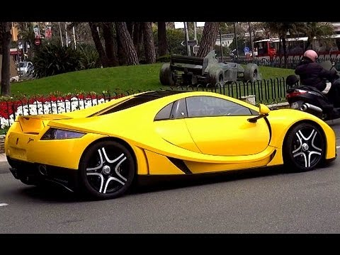 Monaco Supercars 2013: Accelerations, Burnouts + Combos