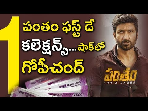 Pantham Movie First Day Box Office Collections | #Gopichand25 Movie News | Mehreen | Tollywood Nagar