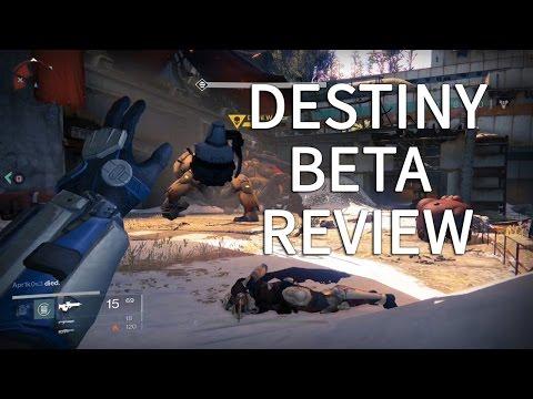 Destiny beta review PlayStation 4