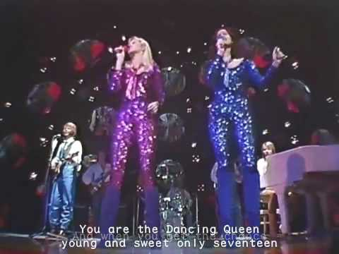 ABBA - DANCING QUEEN(1978) Music Videos