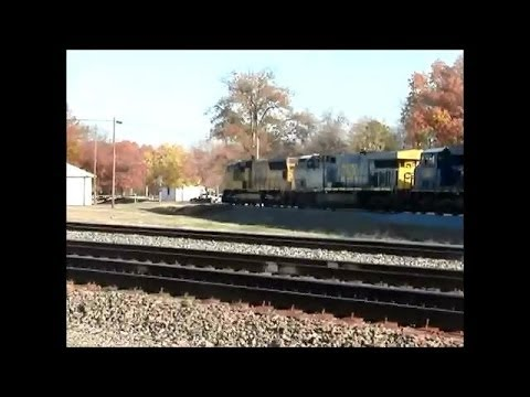 A Train Watching Day in Bald Knob, AR 11-22-12 Part 1