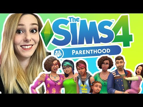 THE SIMS 4 PARENTHOOD!! Parenting Official Gameplay Trailer Reaction (NEW GAMEPACK!)