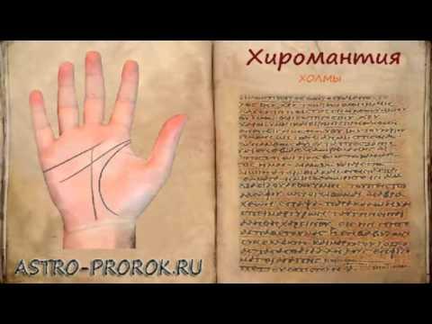 Хиромантия - холм Юпитера на ладони, линии, знаки и влияние (часть 10)