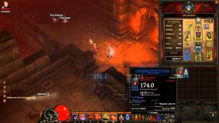 Diablo 3 Gameplay Demon Hunter Strategy Skills Female Hell Difficulty HD