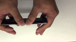 OnePlus One Black Carbon Skins Install Type 1 by Stickerboy