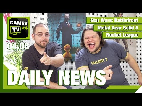 Metal Gear Solid 5, Paladins, Star Wars: Battlefront, Rocket League | Games TV 24 Daily - 04.08.2015