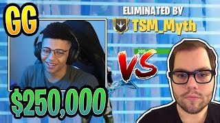 Myth vs Dakotaz in $250,000 Tournament! Both POV - Fortnite Best and Funny Moments