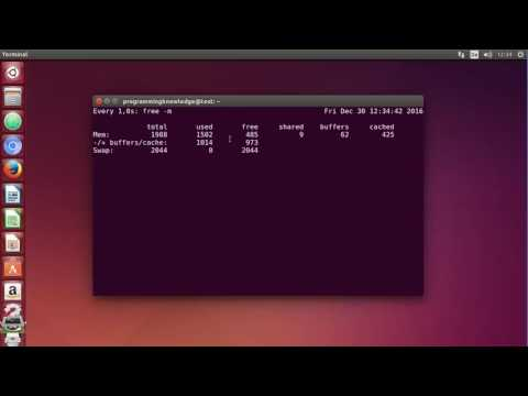 Linux Command Line Tutorial For Beginners 27   watch command