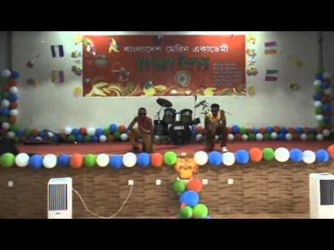 an awesome danceshow by 50th-Bangladesh marine academy
