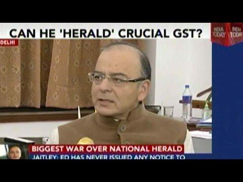 Arun Jaitley On The National Herald Case