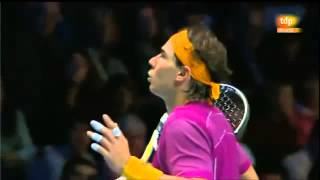 rafael nadal insulta al arbitro / rafael nadal insults the referee