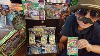 MOST SECRET RARE CARD EVER! Catching Your Favorite Pokemon At Carls Collectibles #8! RAYQUAZA STUFF!