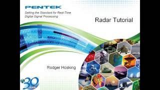 Radar Tutorial