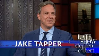 Jake Tapper Reacts To The White House Banning A CNN Reporter