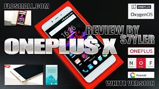 "OnePlus X White (In-Depth Review) 5"" FullHD AMOLED, OxygenOS, 3GB RAM - Video by s7yler"