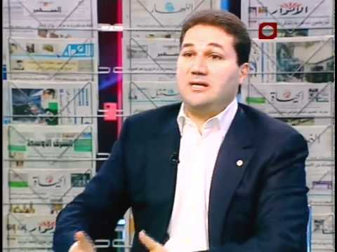 MP Nadim Gemayel interview to Kalam Beirut - Future News - Nov 19, 2011 -  Part 1