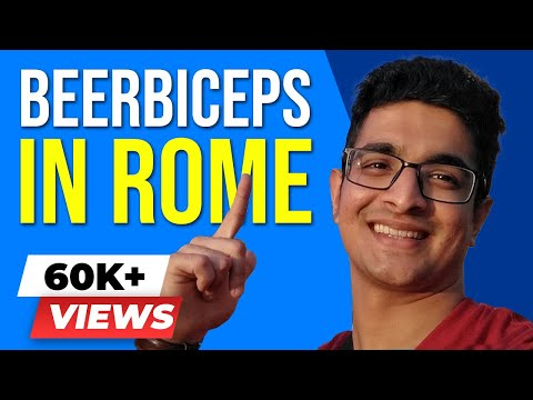 ROME Travel VLOG - Food, Art, Fashion, Architecture, Culture! BeerBiceps Vlogs