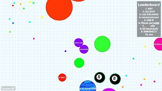 Solo Gameplay in Experimental Mode // 5.000 Score - Agar.io