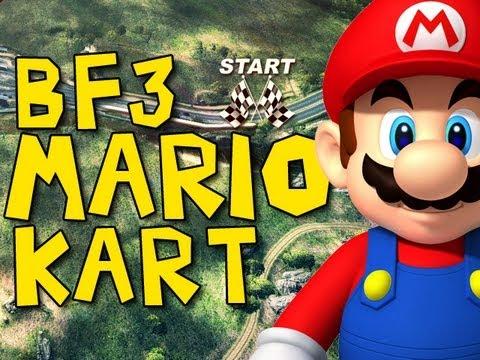 Battlefield 3: Mario Kart Edition!