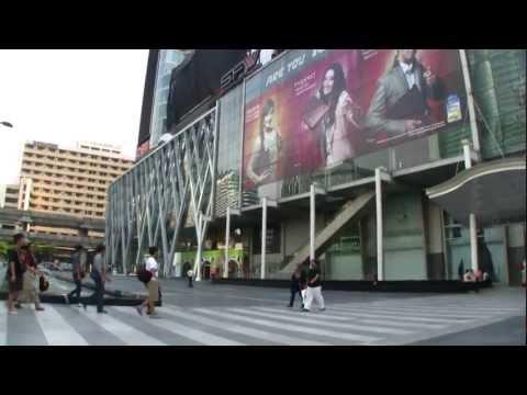 2012-I Walk from ZEN to Central World – Bangkok city – HD