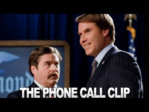 The Campaign - It Was The Phone Call Clip