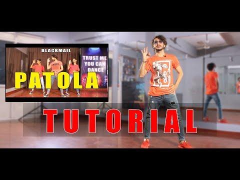 Patola Dance Tutorial Step By Step | Blackmail | Vicky Patel Choreography | Guru randhawa | Hip Hop