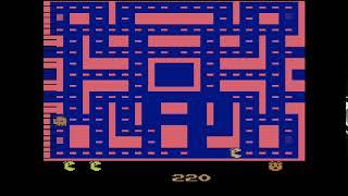 Ms. Pac-Man (Atari VCS 1982 - Easier Play Mode)