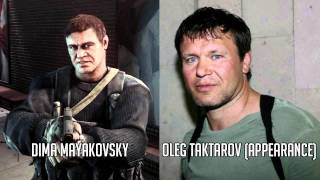 Battlefield 3 - Characters and Voice Actors
