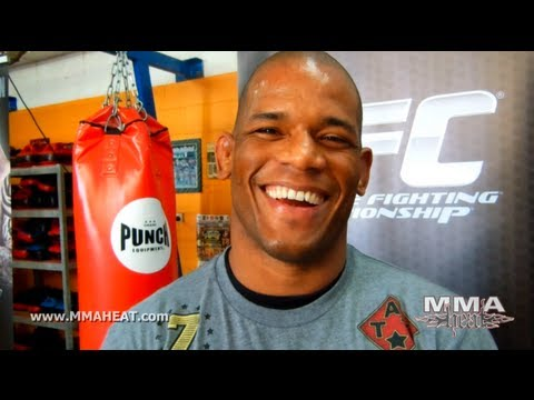 Hector Lombard on UFC on FX 6 Bout with Palhares Good Teams  Bad Pad Holders