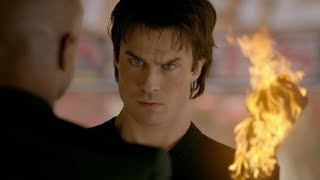 The Vampire Diaries: 8x11 - Cade shows in Damon