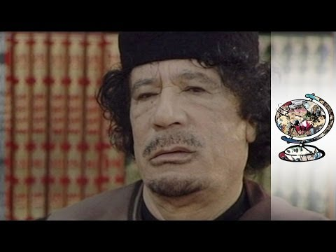 Muammar Gaddafi Interviewed Just Before Libyan Revolution video