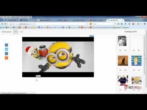 Tạo ảnh GIF từ video YouTube - Tạo ảnh động trực tuyến