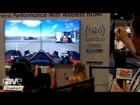 InfoComm 2014: Gefen Details its Simulator With Wireless HDMI